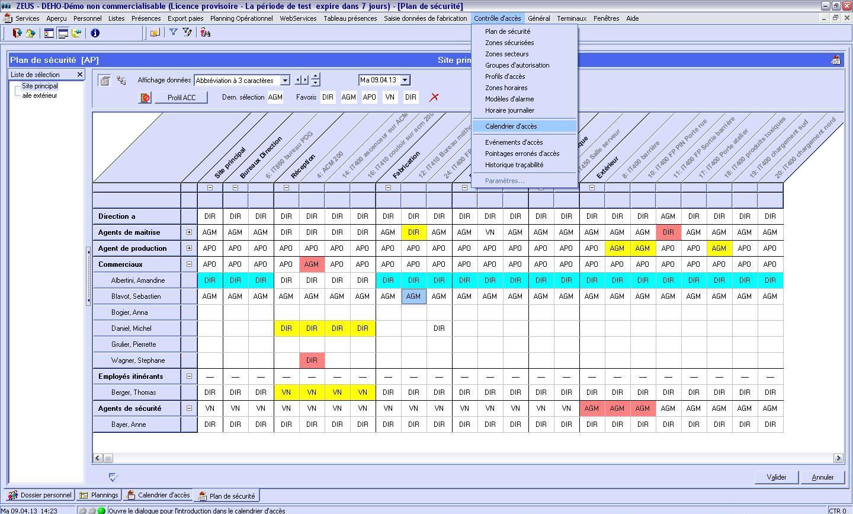 logiciel pour plan de sécurité