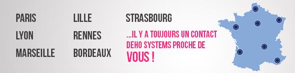 Gestion des temps DEHO SYSTEMS: paris, lyon, marseille, lille, rennes, strasbourg, bordeaux