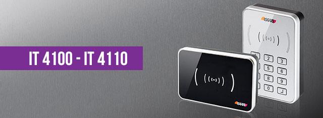 Terminaux de contrôle d'accès IT 4100 et IT 4110
