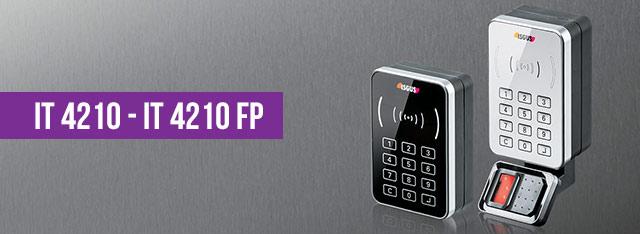 Contrôle d'accès IT 4210 et IT 4210 FP