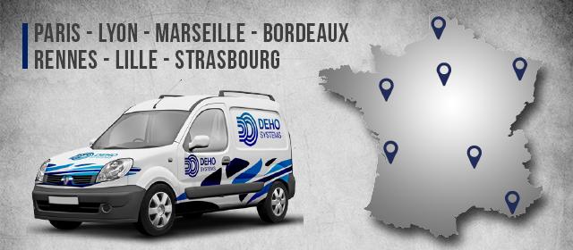 Deho systems : 7 agences en France