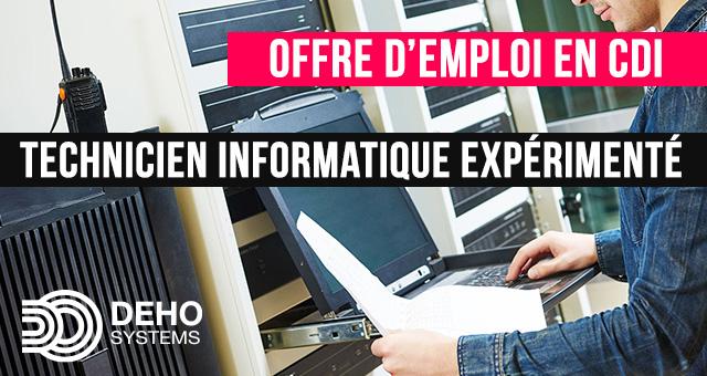 Technicien Informatique Ile de France