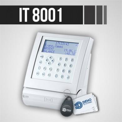 Pointeuse IT 8001 pour gestion des temps