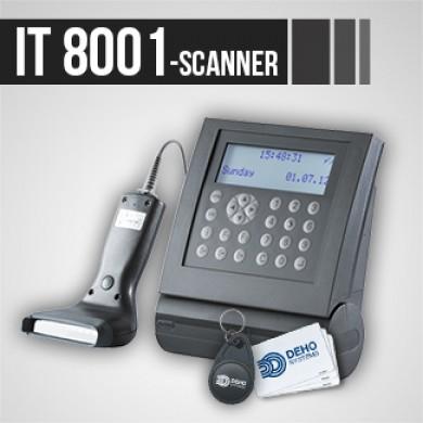 Pointeuse IT 8001 Scanner pour gestion des temps