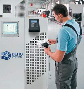 Badgeuse IT 8001 en mode suivi de production