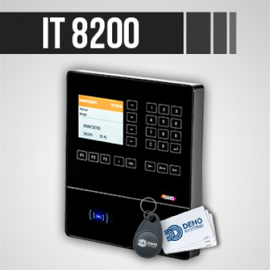 Pointeuse IT 8200 pour gestion des temps