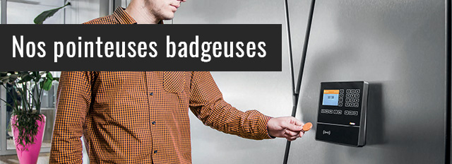 Pointeuses et badgeuses DEHO Systems