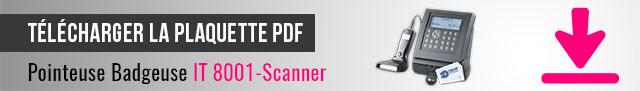 Télécharger la plaquette PDF de la pointeuse IT 8260
