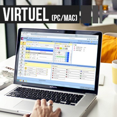 Badgeuse virtuelle sur pc ou mac