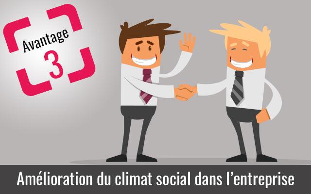 La pointeuse améliore le climat social