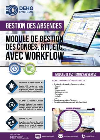 Plaquette gestion des congés deho systems pdf